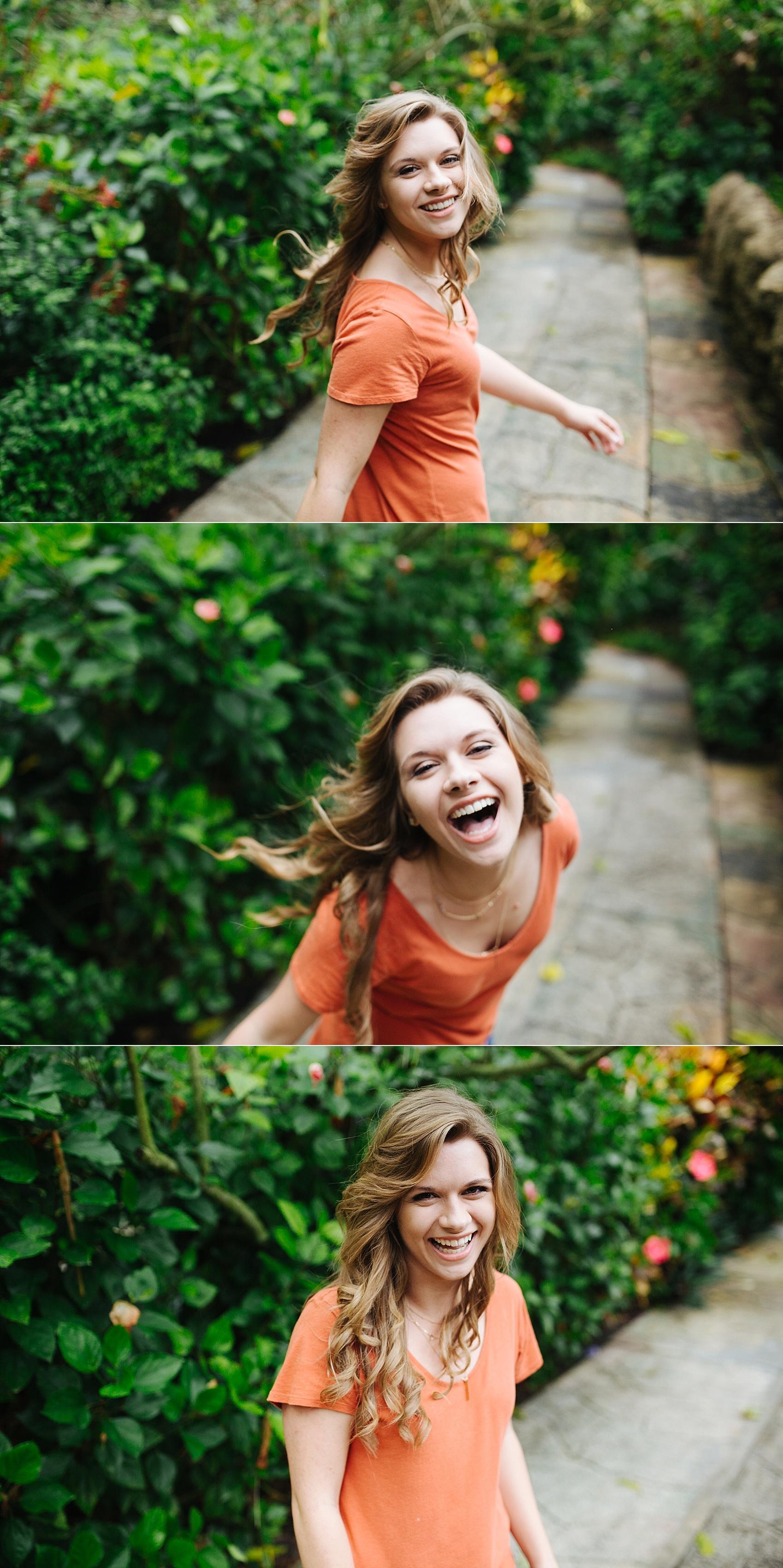 stpete senior portraits sunken gardens leah-7