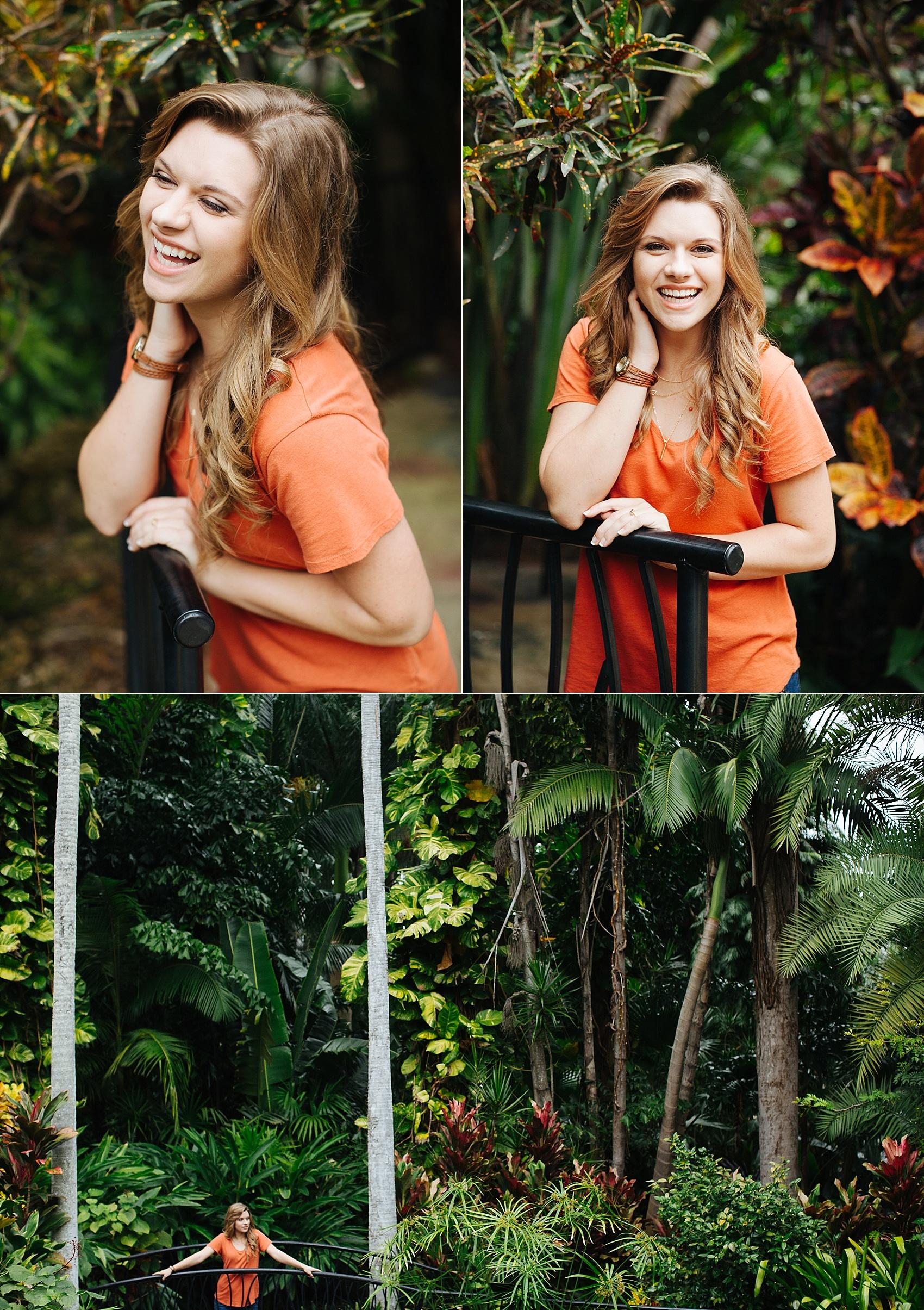 stpete senior portraits sunken gardens leah-9