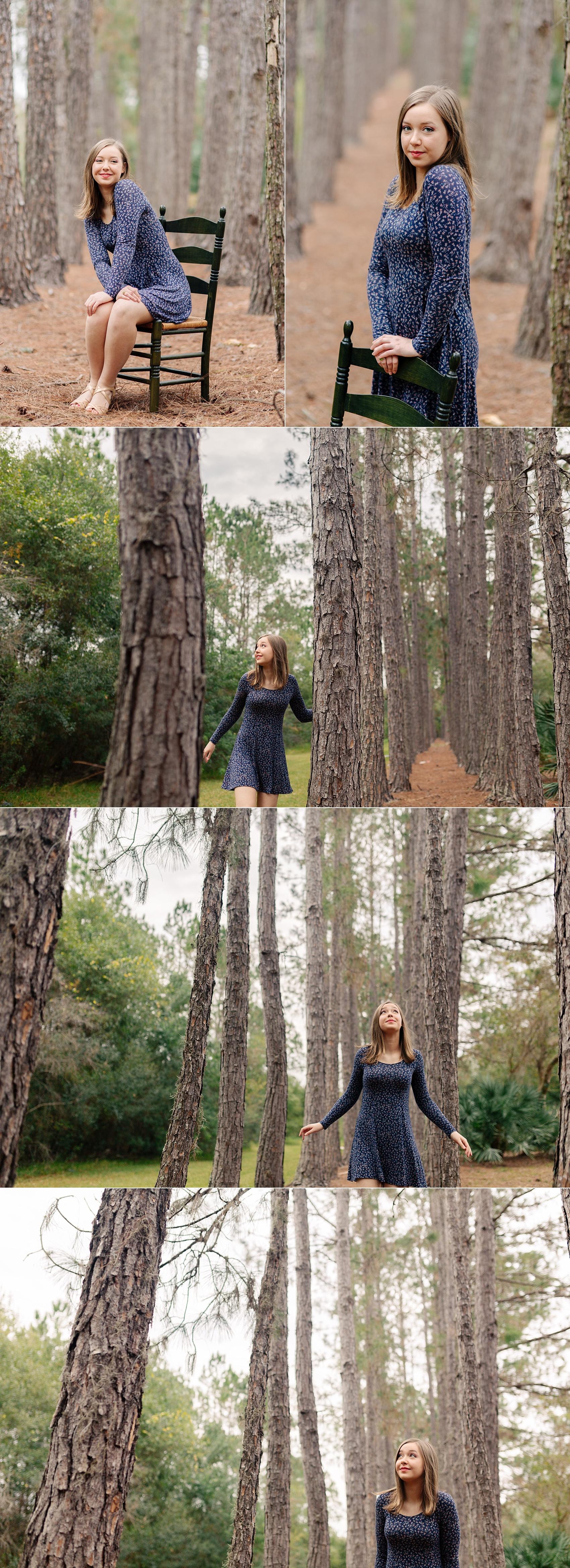 whimsical woodsy senior session tampa melanie-2