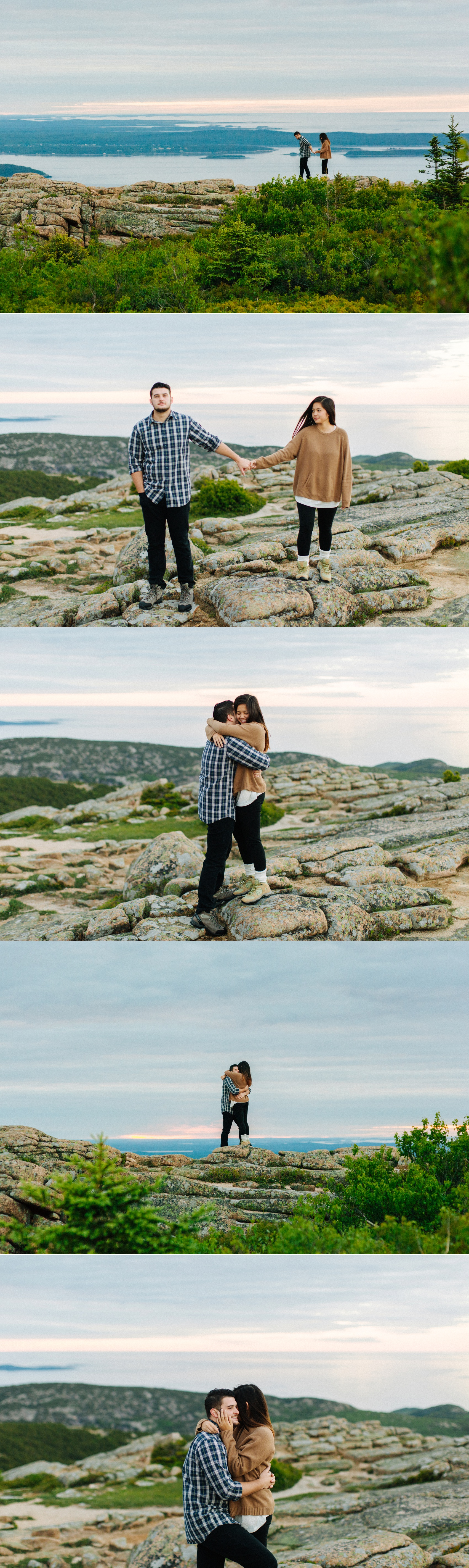 jake and jill acacdia national park engagement session cadillac mountain engagement session jordan pond engagement session maine engagement session jake and katie_0006