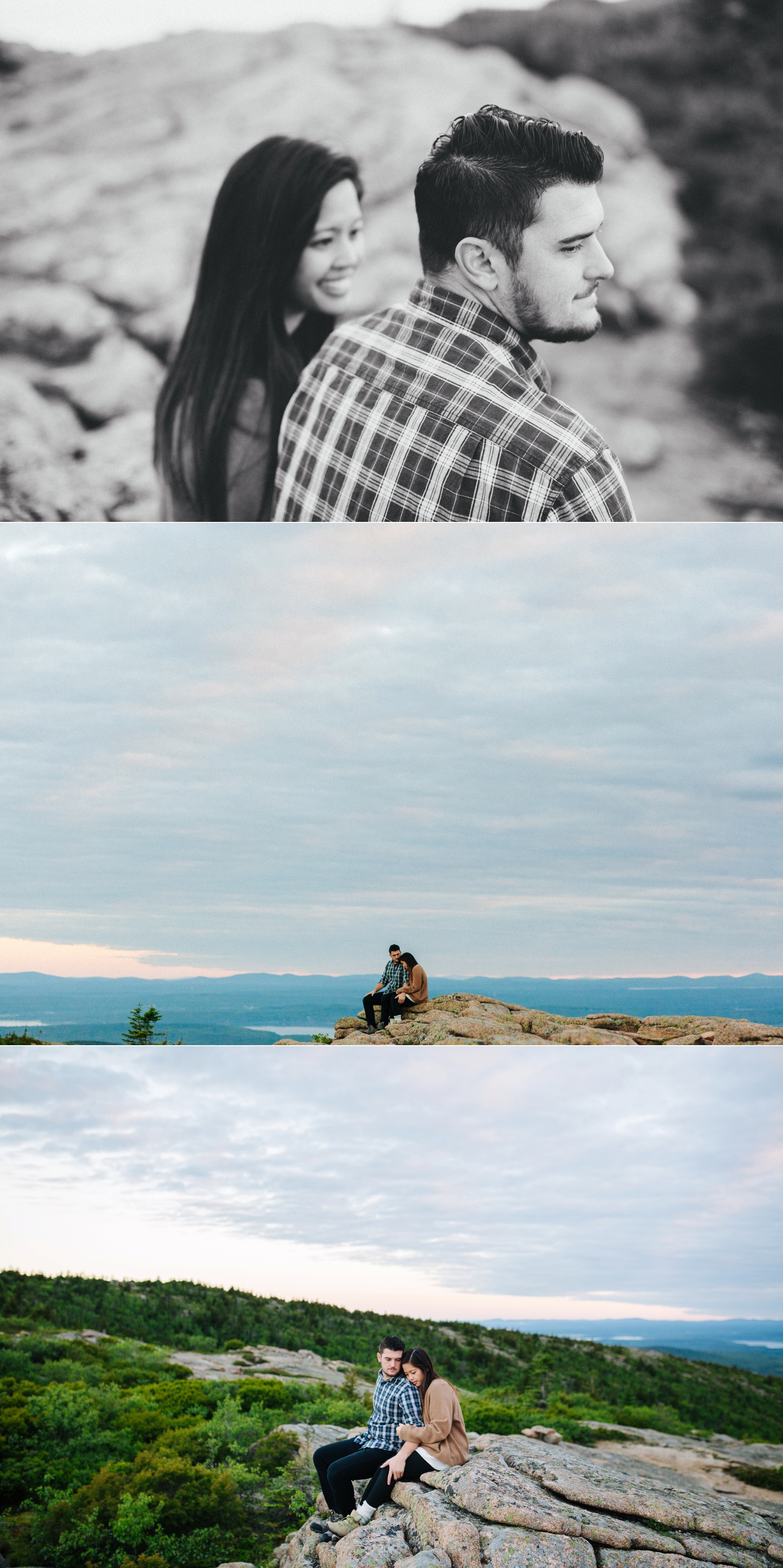 jake and jill acacdia national park engagement session cadillac mountain engagement session jordan pond engagement session maine engagement session jake and katie_0008
