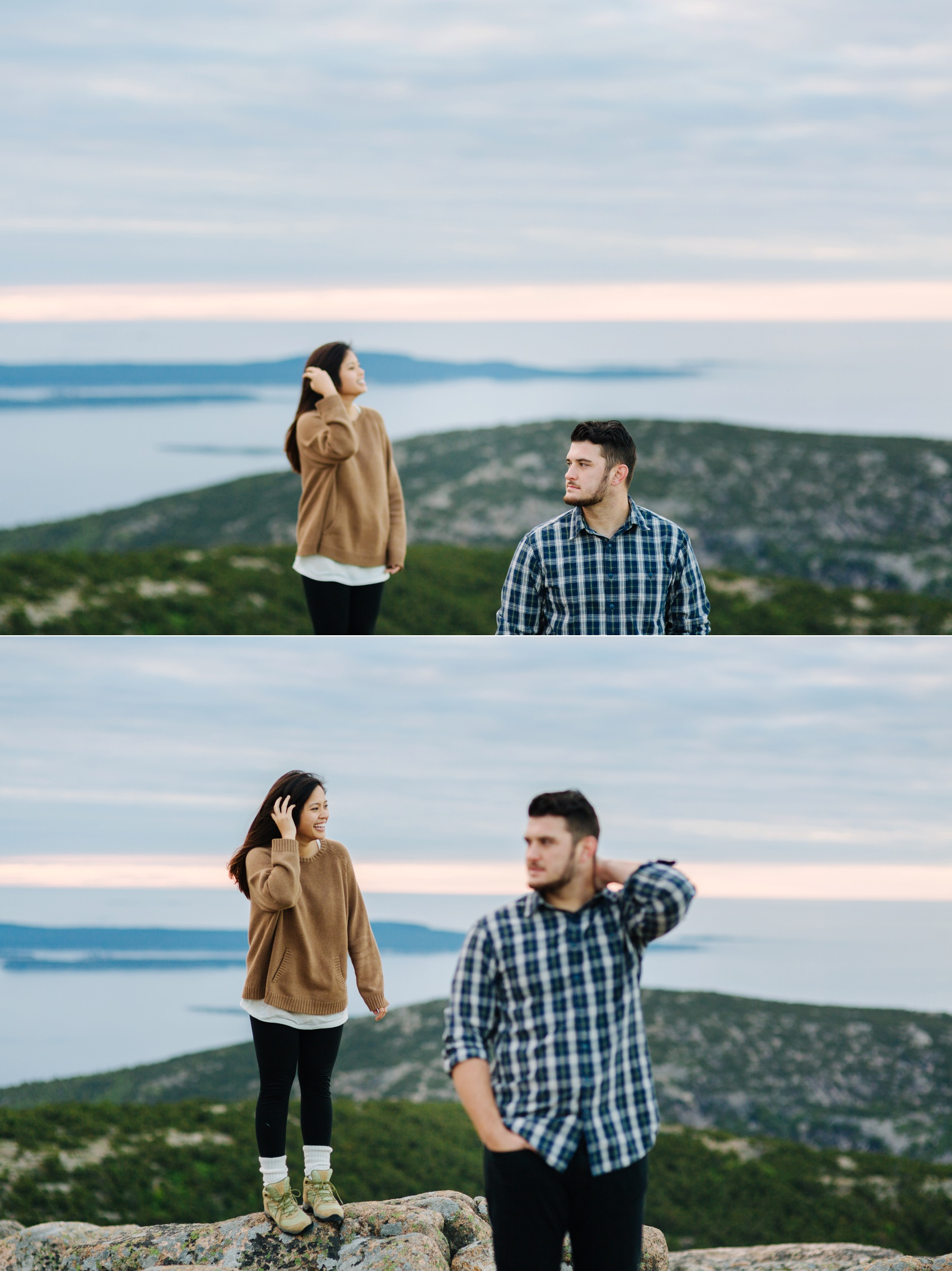 jake and jill acacdia national park engagement session cadillac mountain engagement session jordan pond engagement session maine engagement session jake and katie_0012