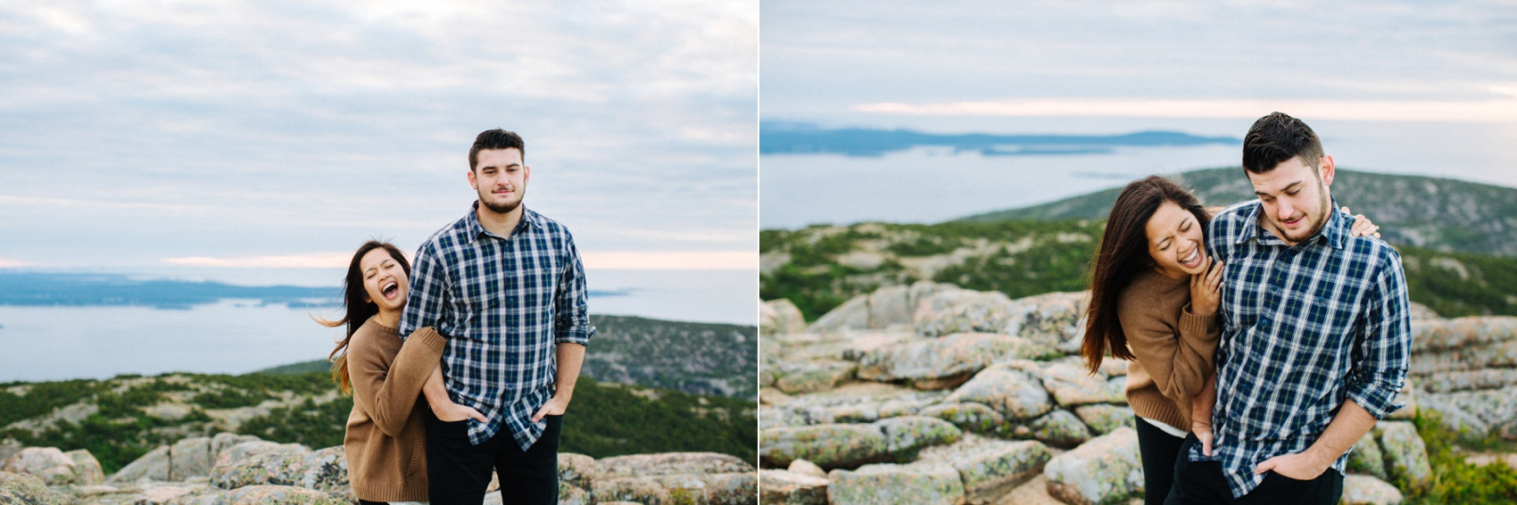 jake and jill acacdia national park engagement session cadillac mountain engagement session jordan pond engagement session maine engagement session jake and katie_0014