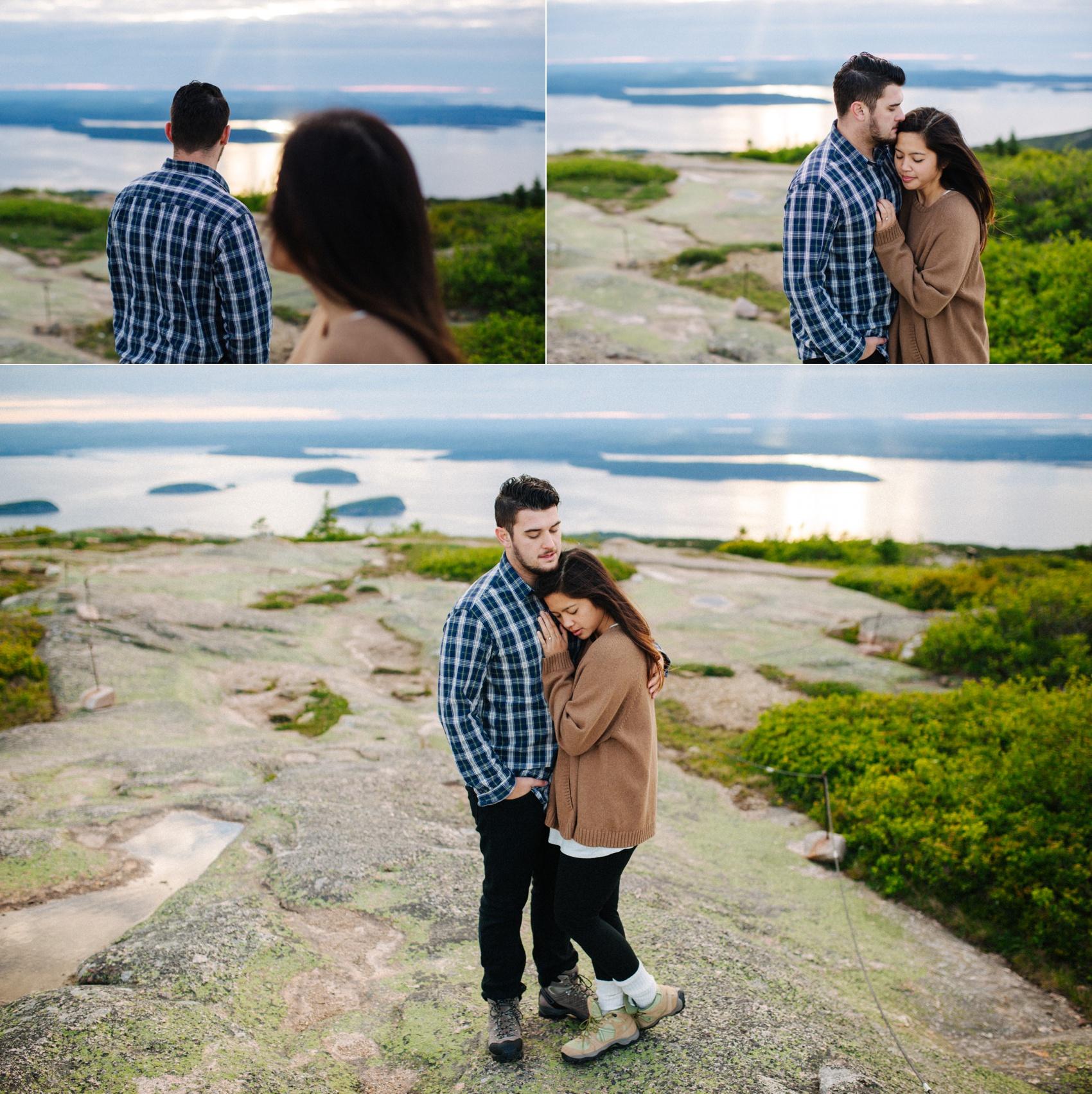 jake and jill acacdia national park engagement session cadillac mountain engagement session jordan pond engagement session maine engagement session jake and katie_0018
