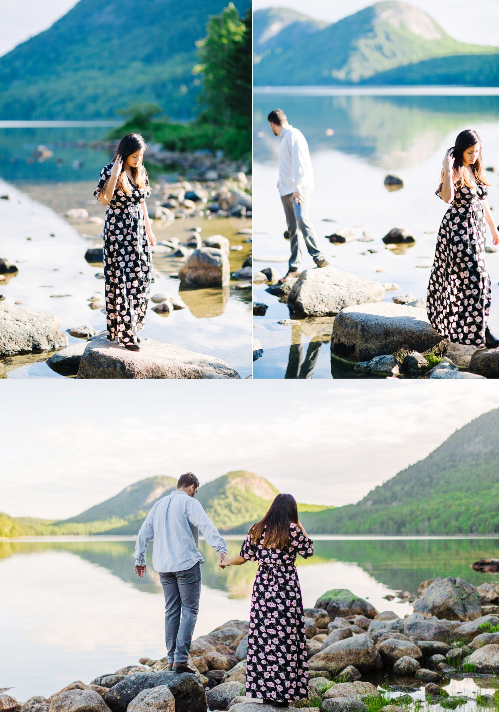 jake and jill acacdia national park engagement session cadillac mountain engagement session jordan pond engagement session maine engagement session jake and katie_0027