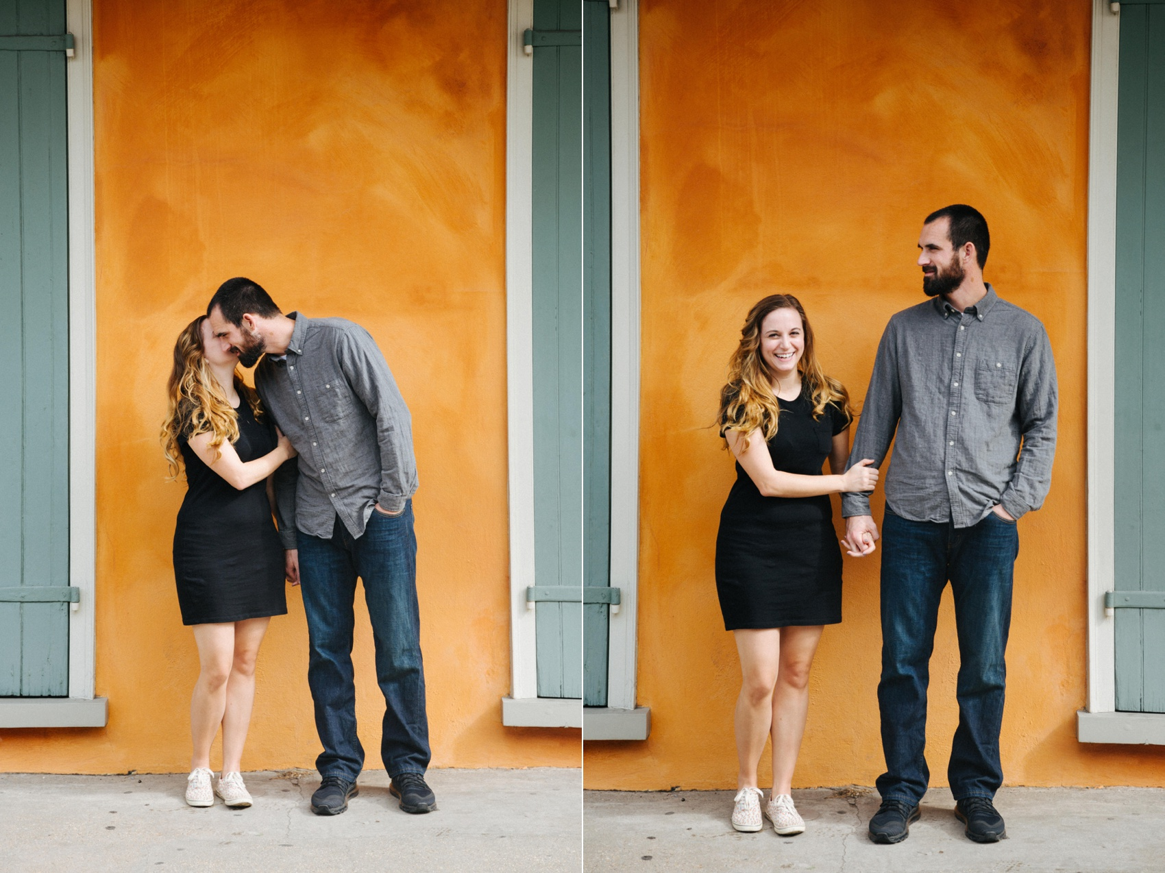 french quarter new orleans engagement jake and katie photography