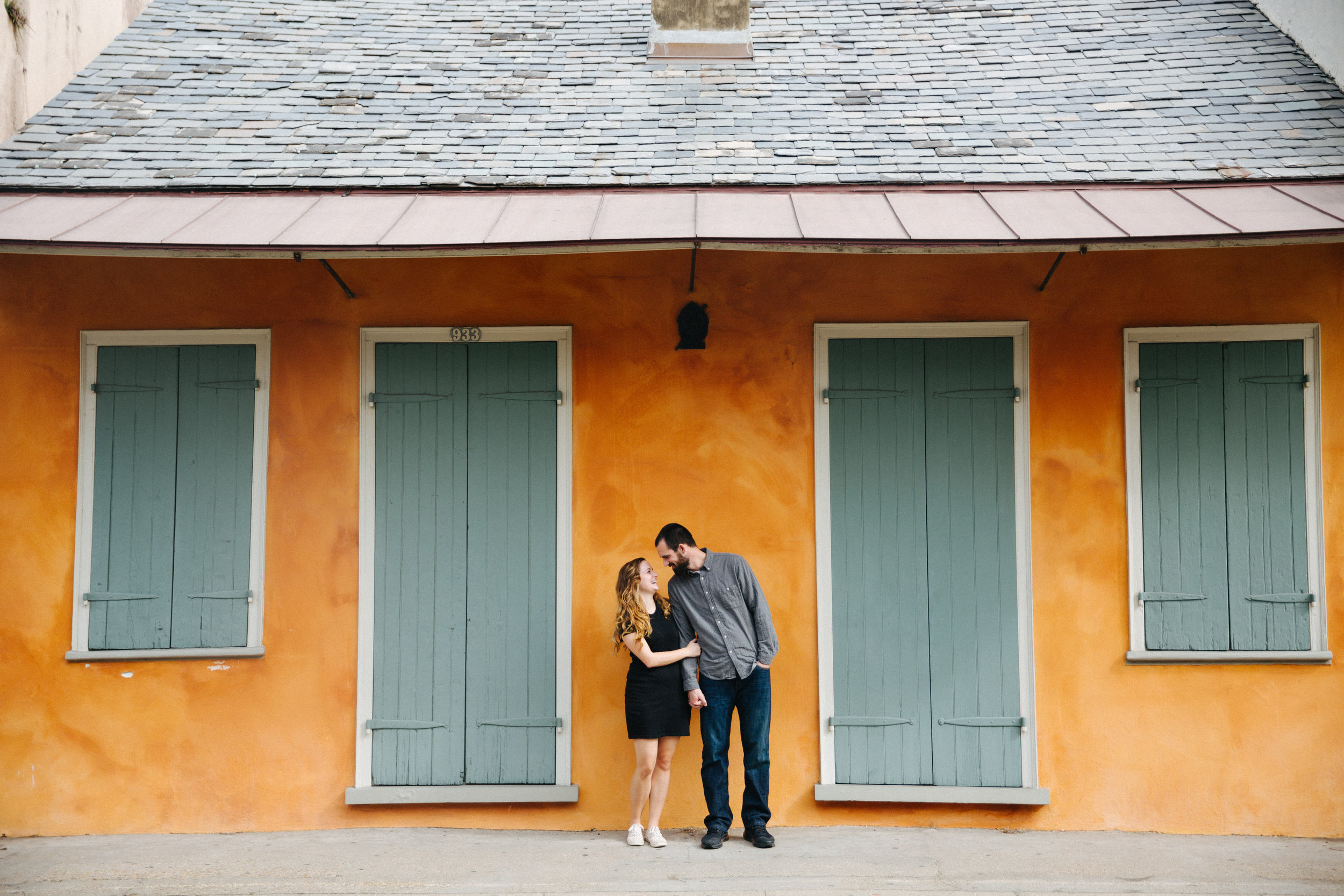 french quarter new orleans engagement session jake and katie photography