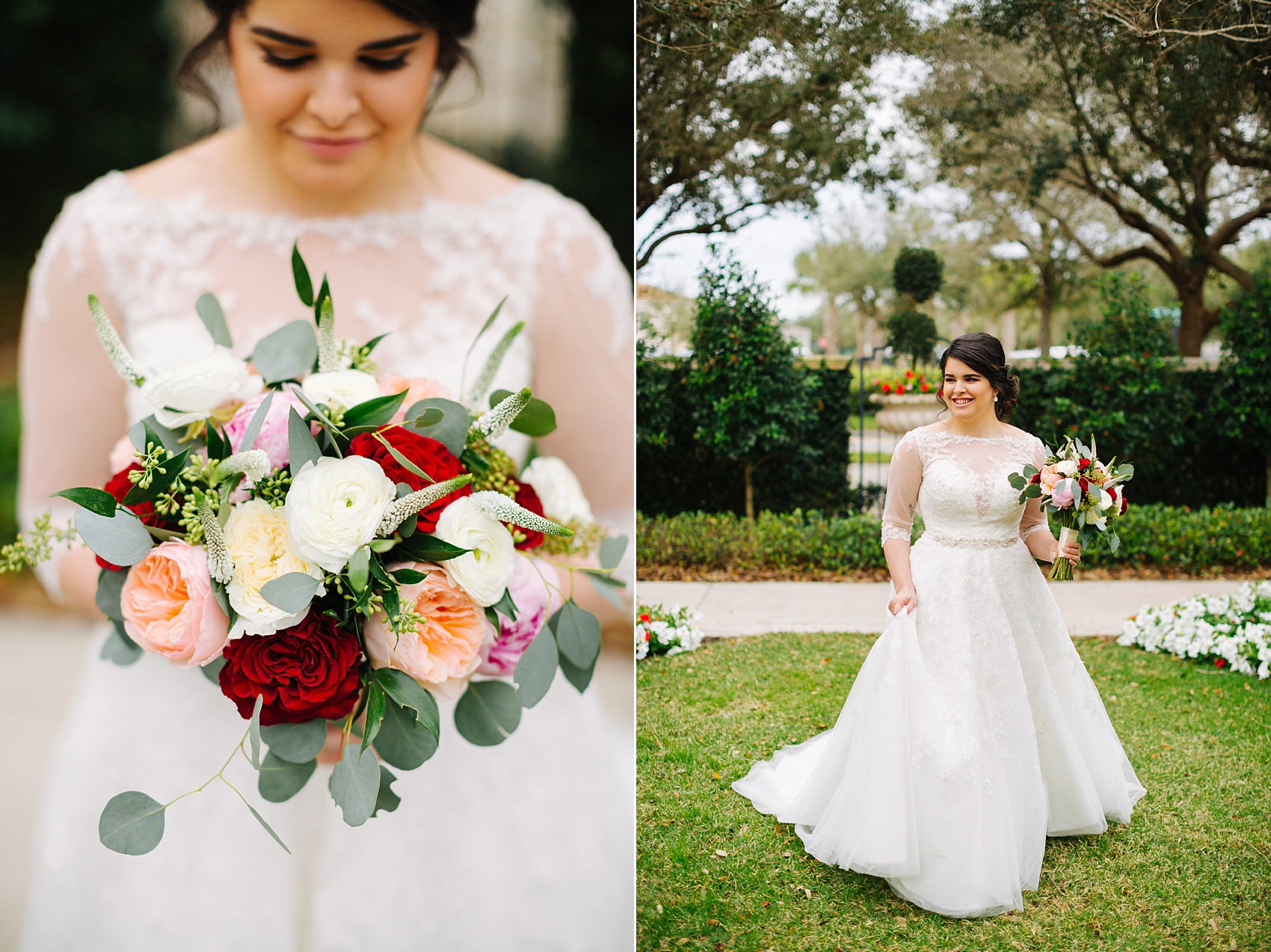 palmetto club wedding tampa wedding photographer bride portraits
