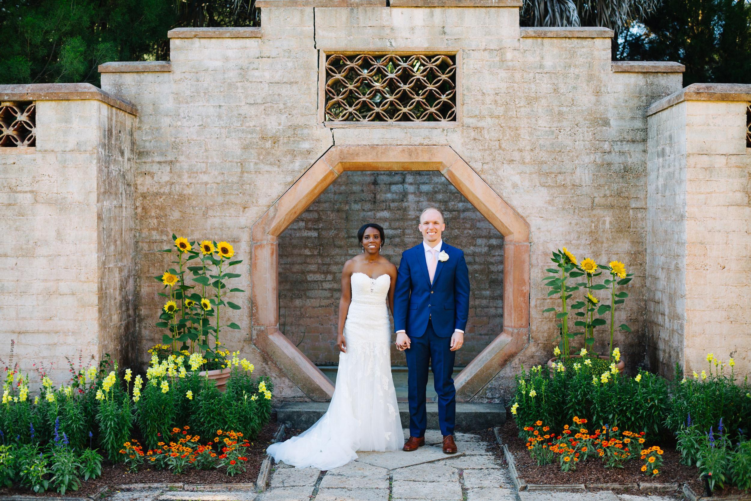 bok tower gardens wedding, bride and groom portraits at bok towerbok tower gardens wedding, bride and groom portraits at bok tower