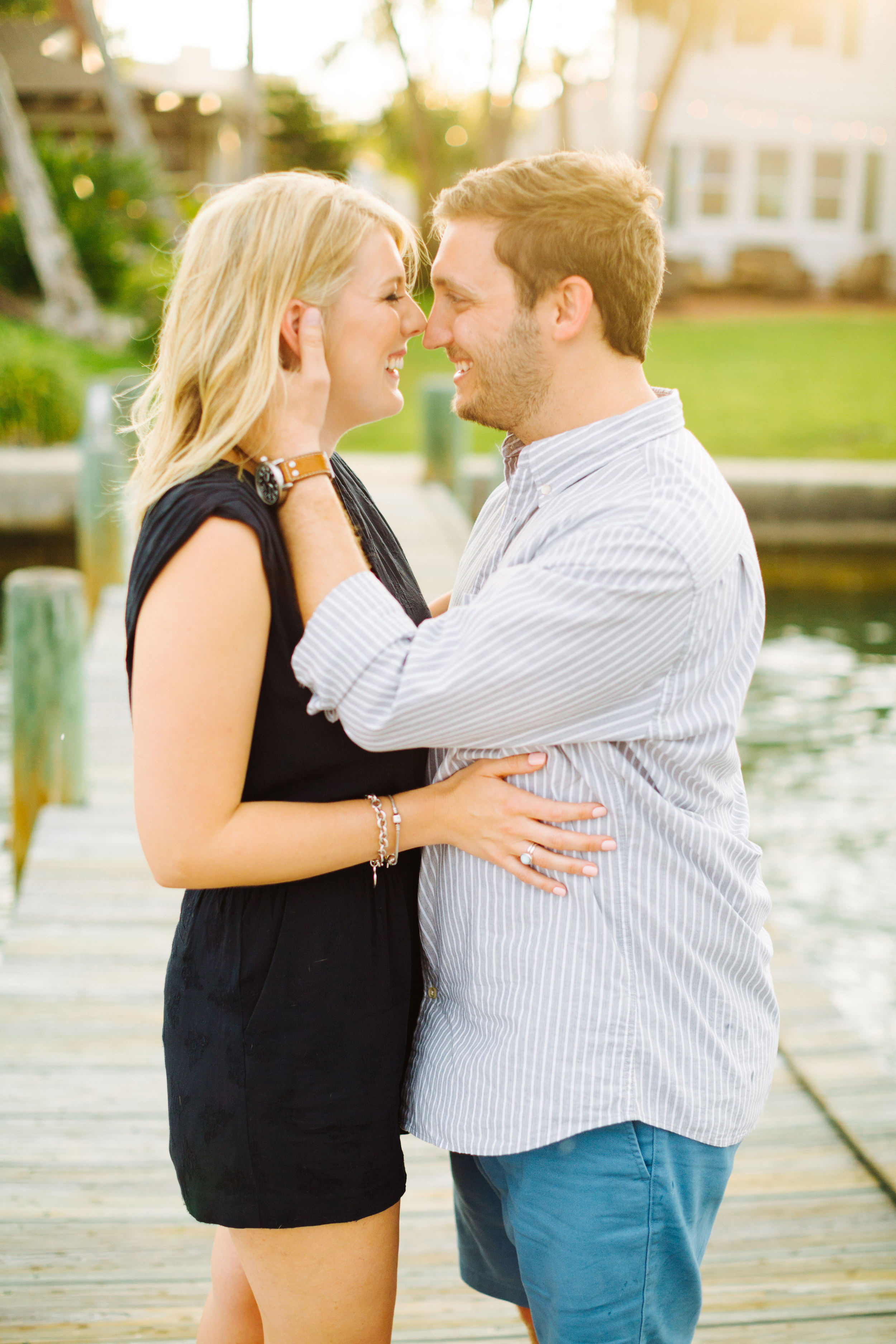 tampa florida at home engagement session