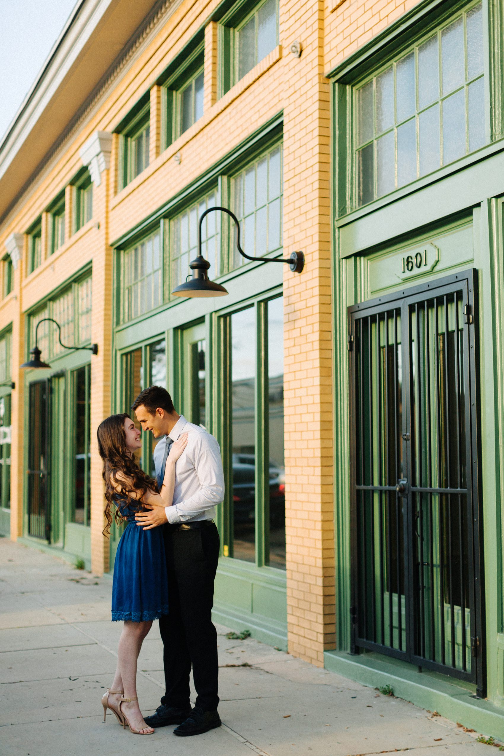 tampa heights engagement photos