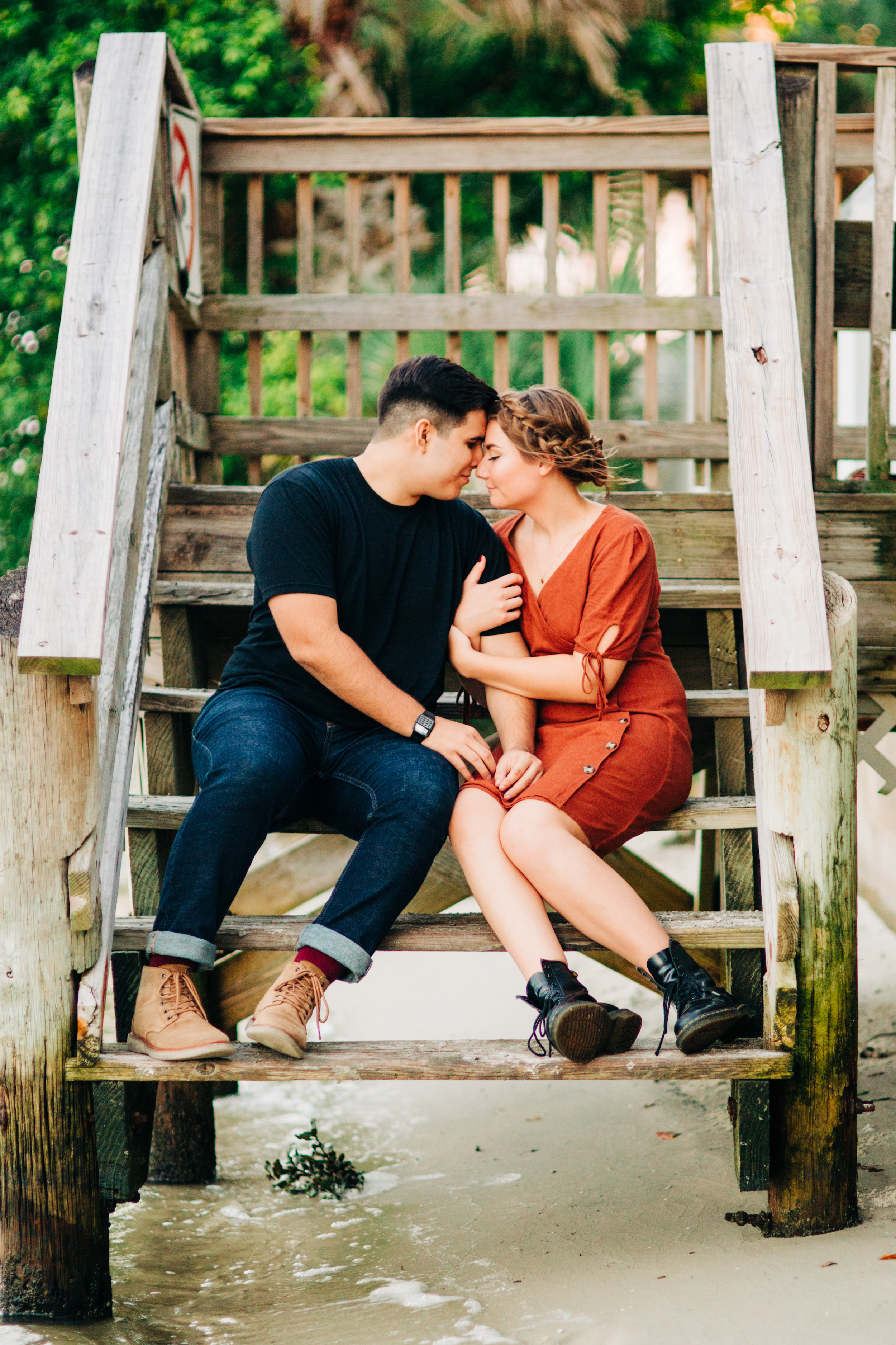 philippe park engagement session, clearwater engagement session, tampa wedding photographer