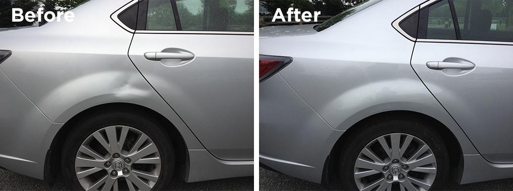 Dent repair no panel beating