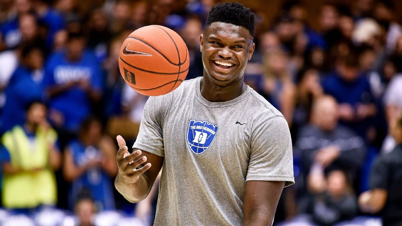 Duke Mega-star Zion Williamson will be the future face of the NBA for many years to come. (Photo by: ESPN)