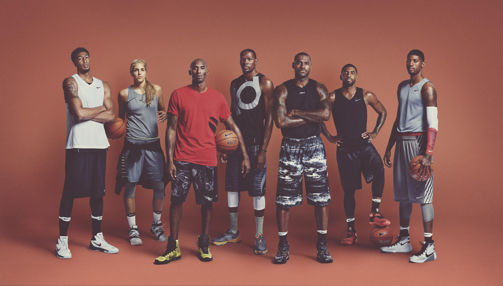 Nike Basketball Presents their NBA Athletes. Missing is Giannis A. (Photo by: @Nikebasketball)
