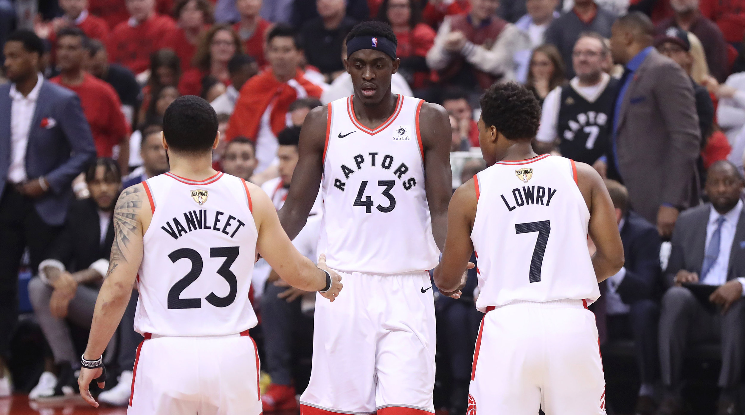 The Toronto Raptors won game 3 convincingly 123-109 over the Golden State Warriors ( Photo by: CBS Sports)