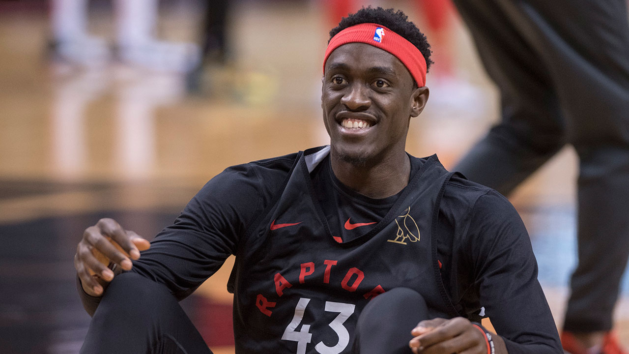 Pascal Siakam becomes the first Raptors player in franchise history to win the most improved award (Photo by: Sportsnet).