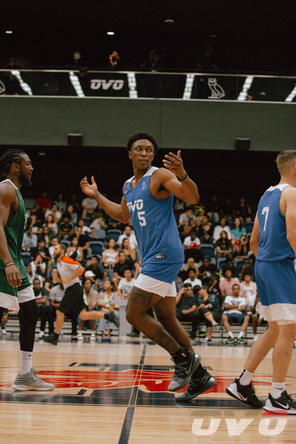 @Stanimal - Raptors Forward Stanley Johnson suits up for OVO