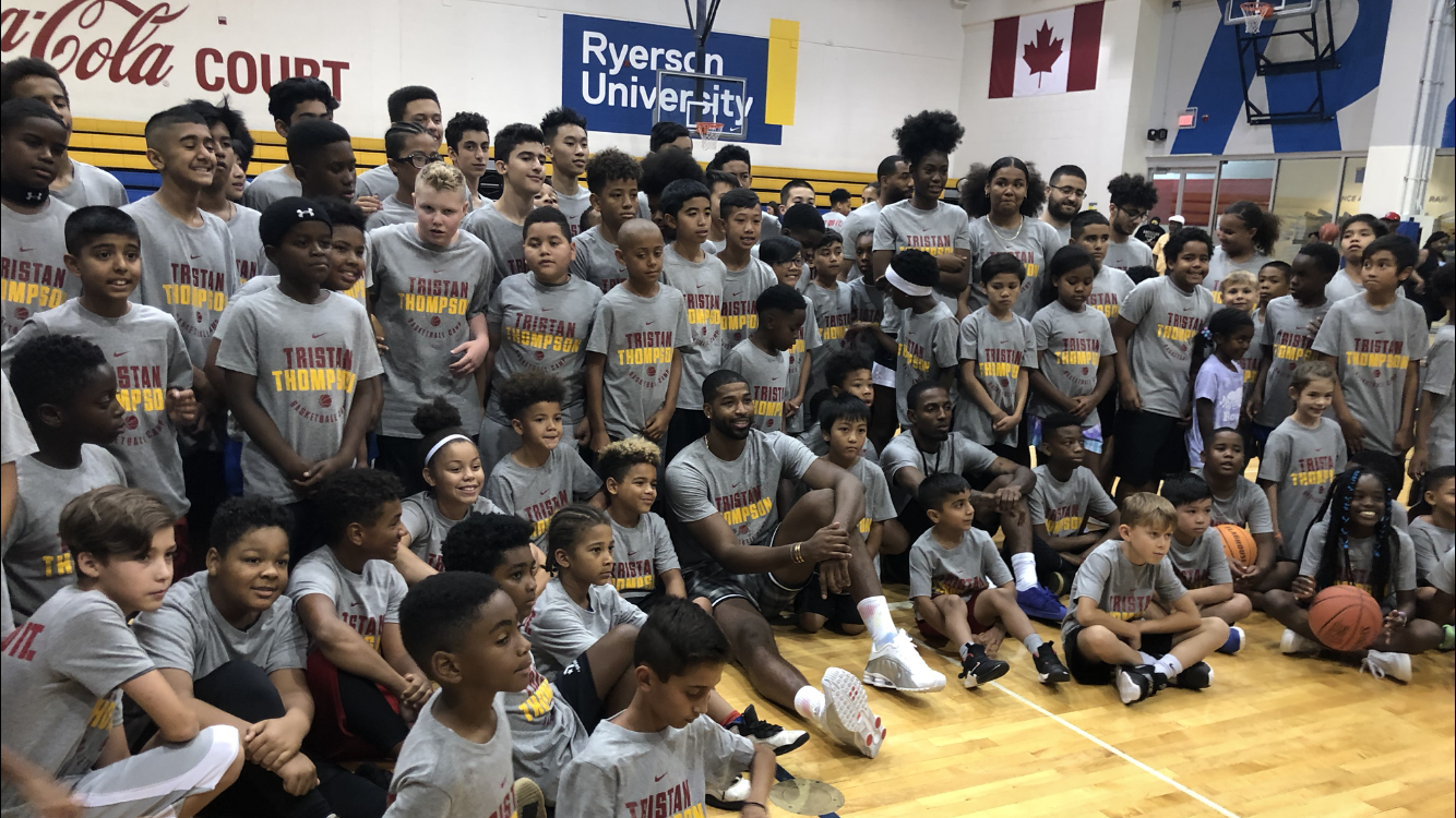 Tristan Thompson Basketball Camp -