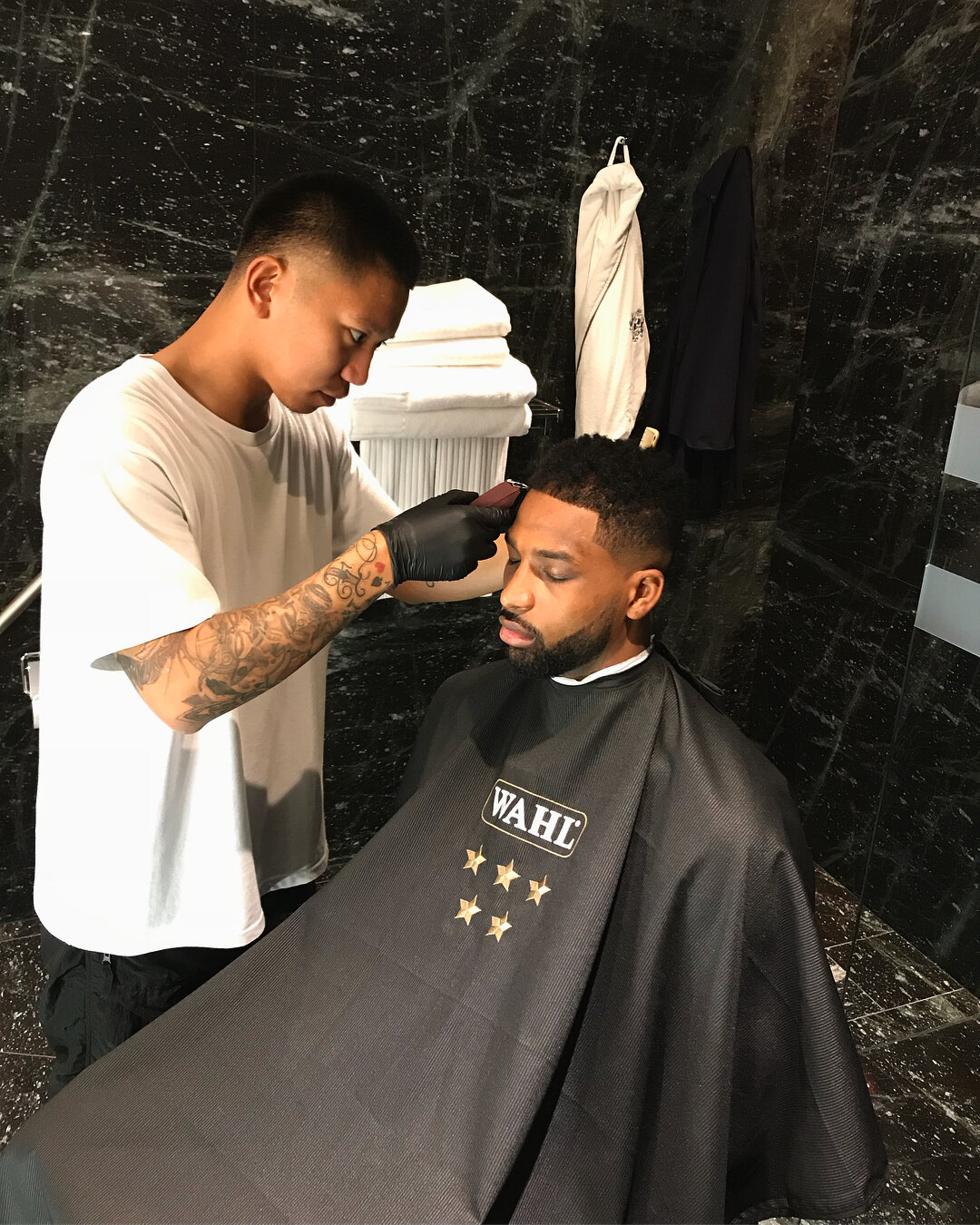 A Crown Of Confidence - JD cutting Cavs Forward Tristan Thompson