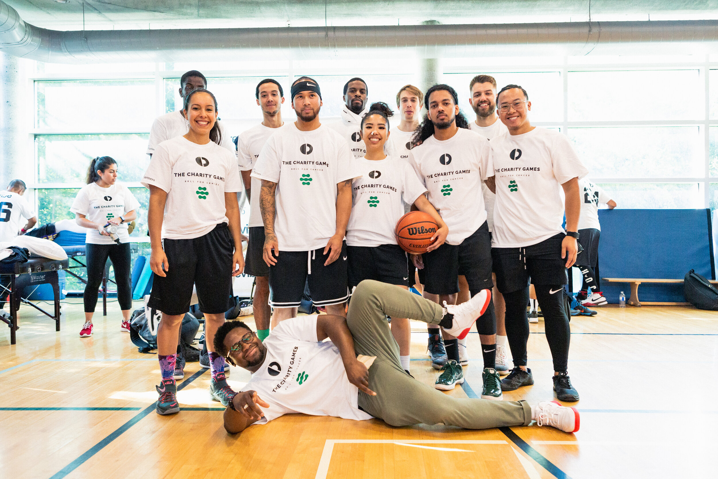 TEAM REVIBE - Revibe takes the court at Charity Games