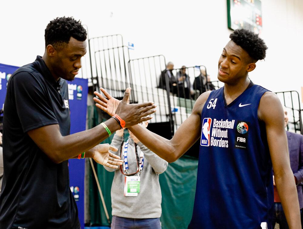 Photo courtesy of NBA ACADEMY