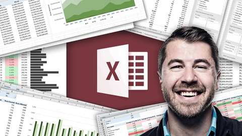 Data Analysis with Excel Pivot Tables Microsoft Excel     Featuring:    Chris Dutton - Excel Maven