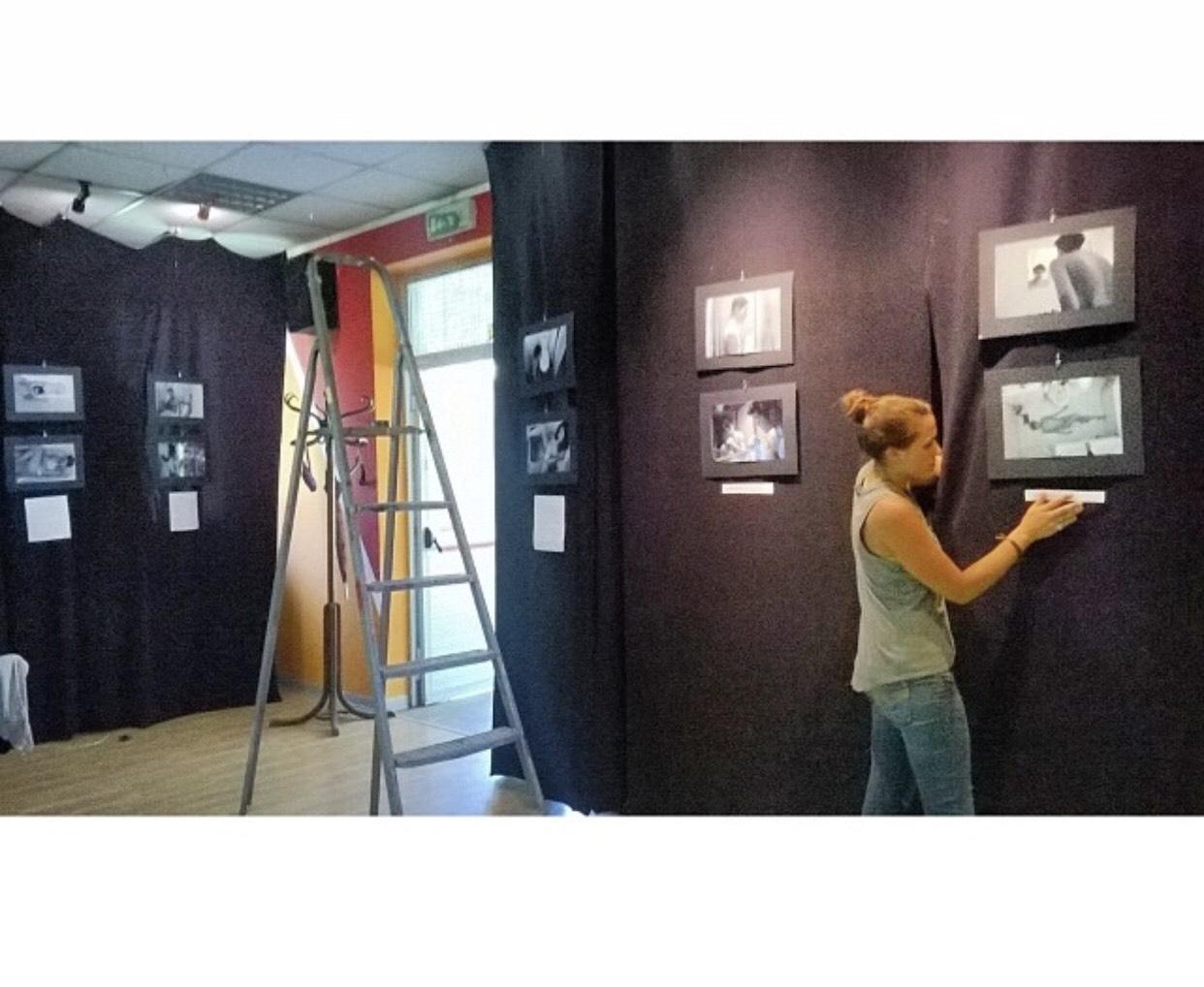FULL DISCLOTHESURE's debut exhibition in Milan, Italy. Exhibited in Spazzio Baluardo.