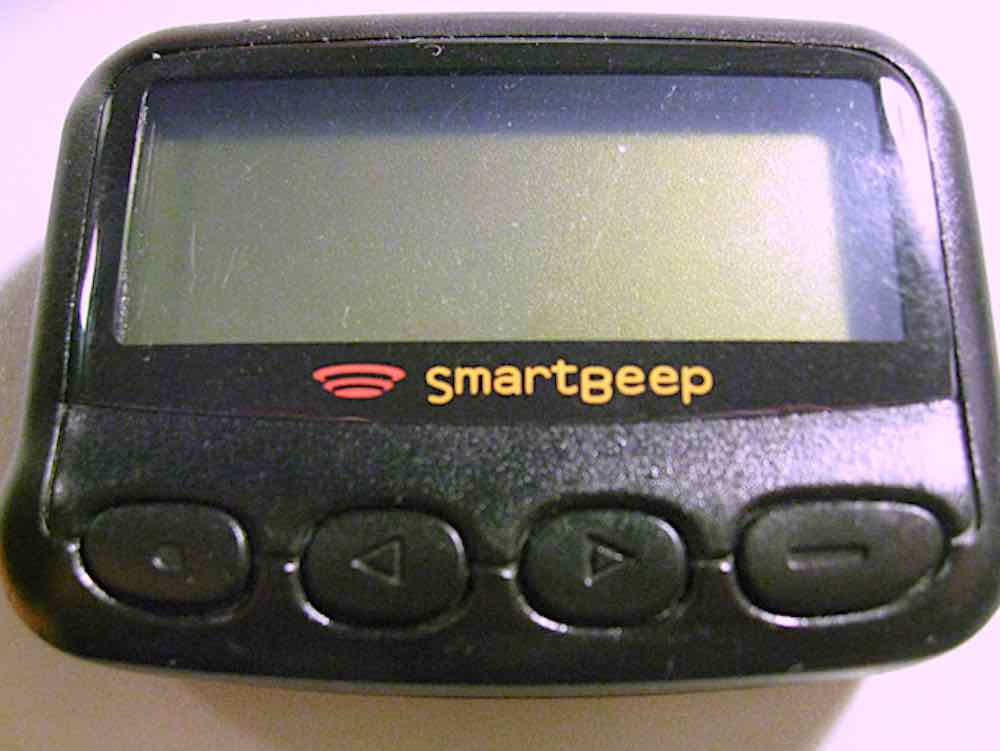 SmartBeep pager (1990)