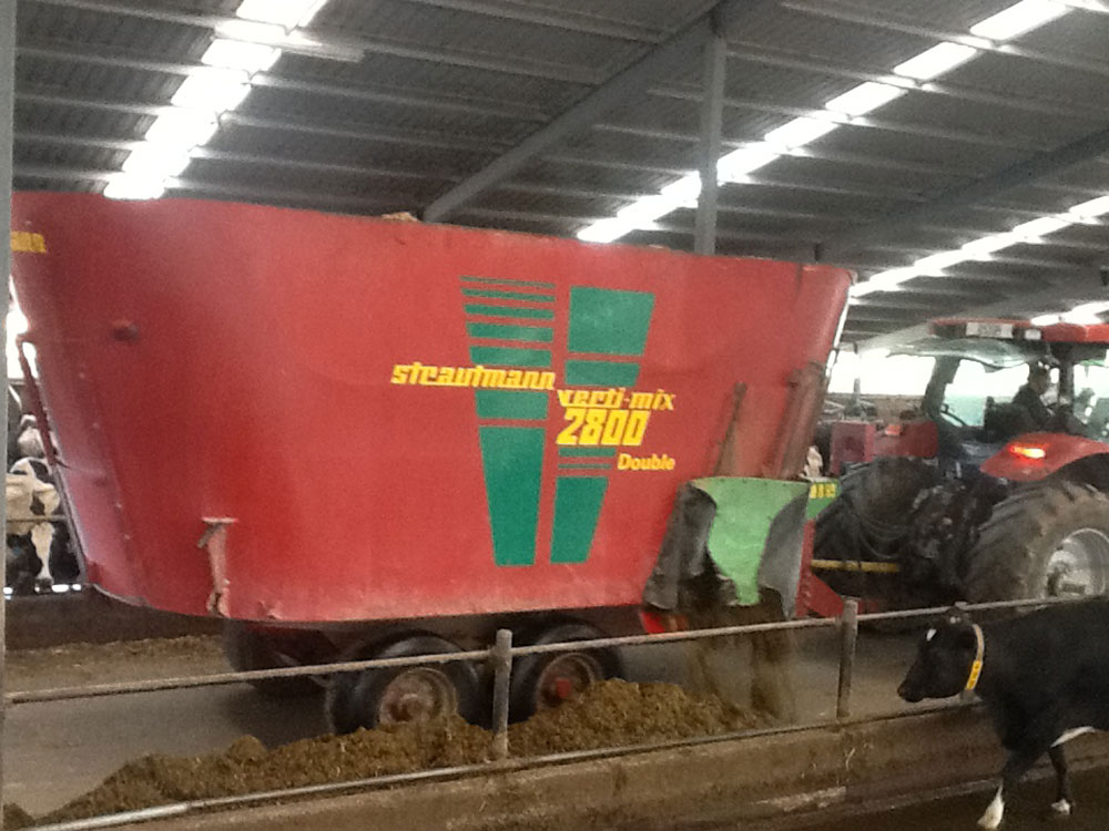 Strautmann Wagon on Farm South Canterbury