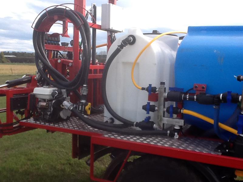 Custom Built Spray Truck