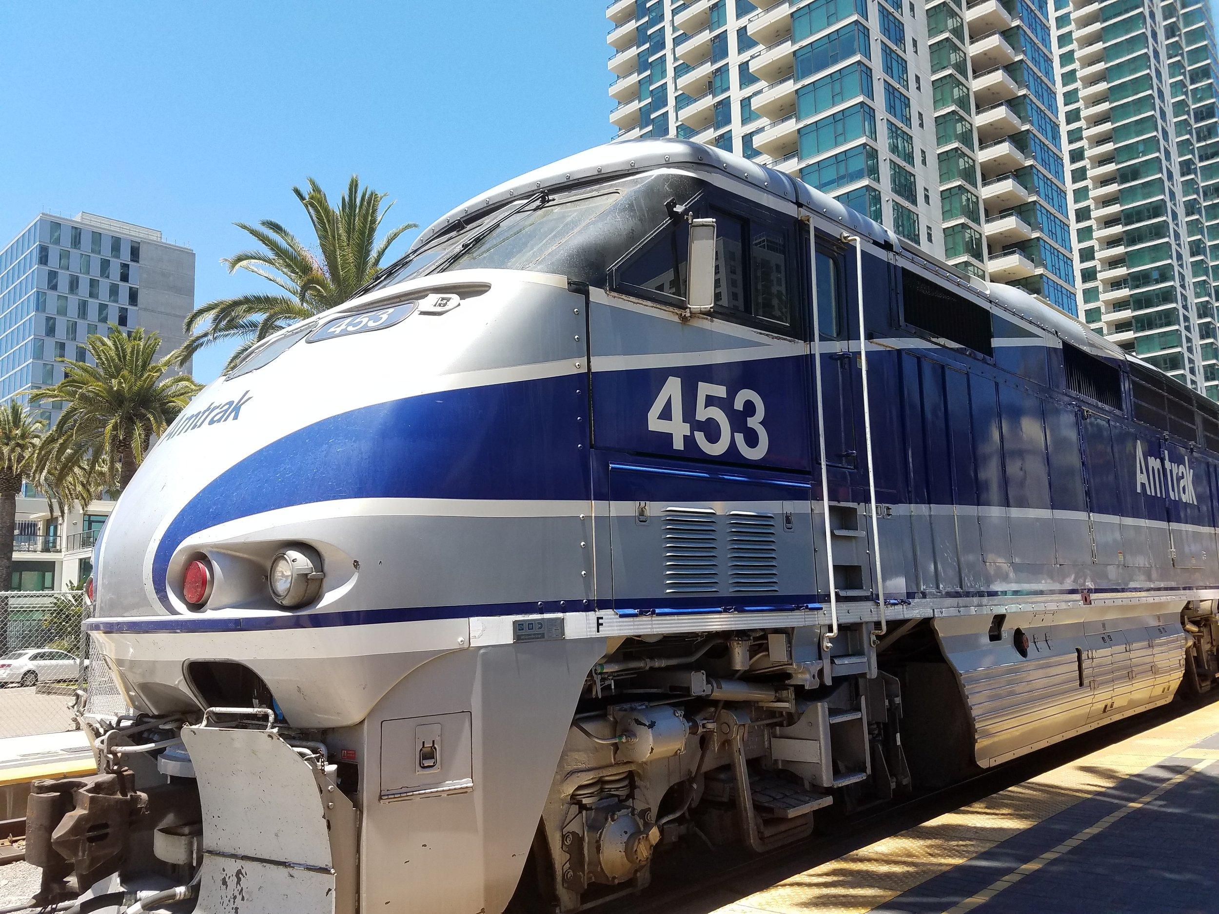 Amtrak in SD