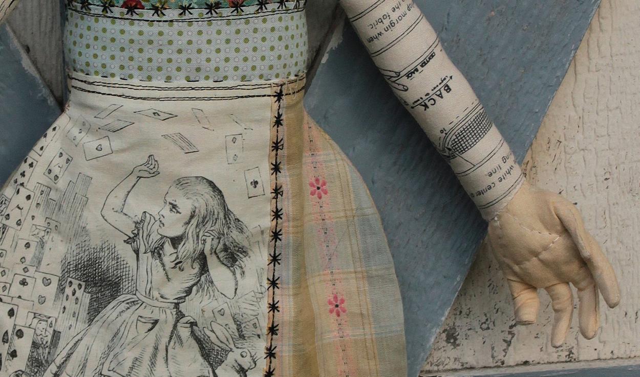 Storybook Alice in Wonderland (detail)