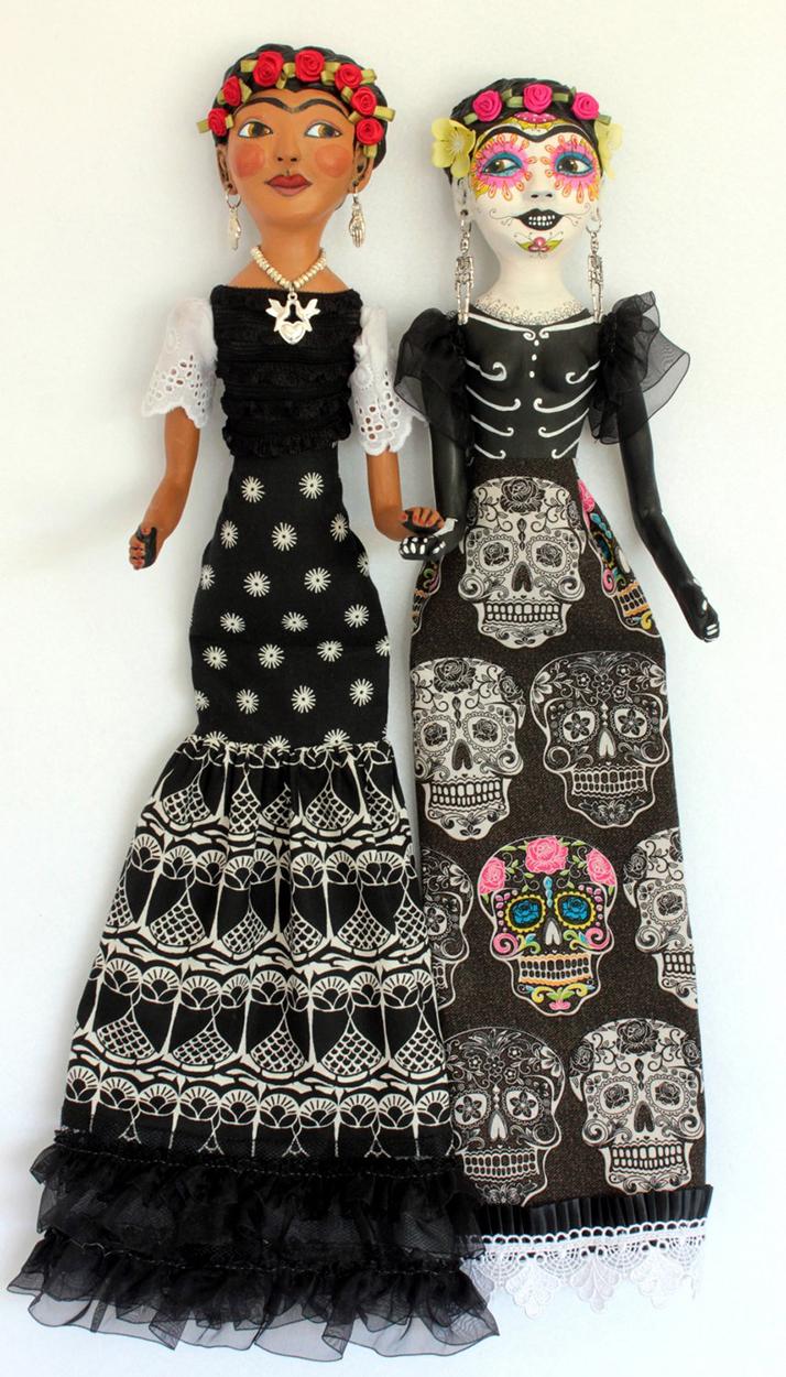 Frida y la Catrina