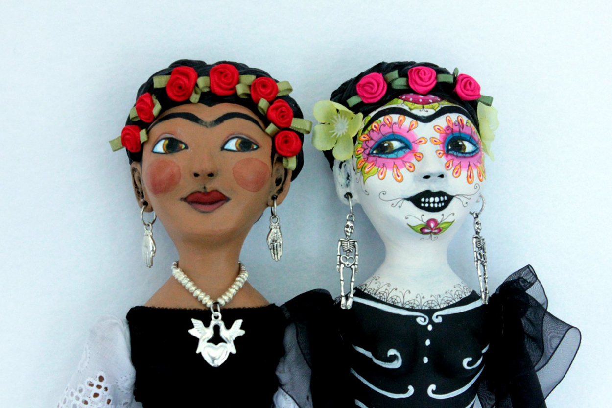 Frida y la Catrina (detail)