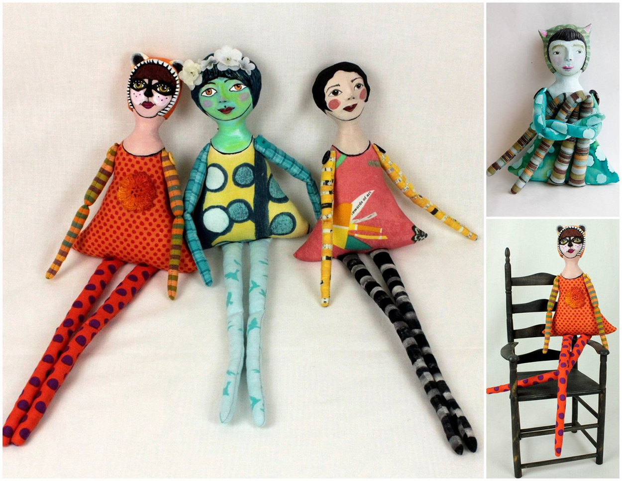 Long-legged Lolas collection