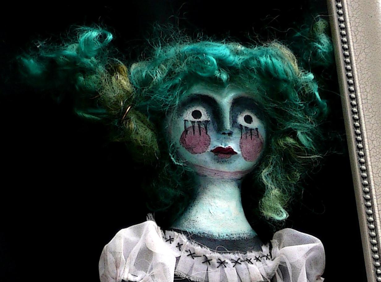 Little Miss Spooky (detail)