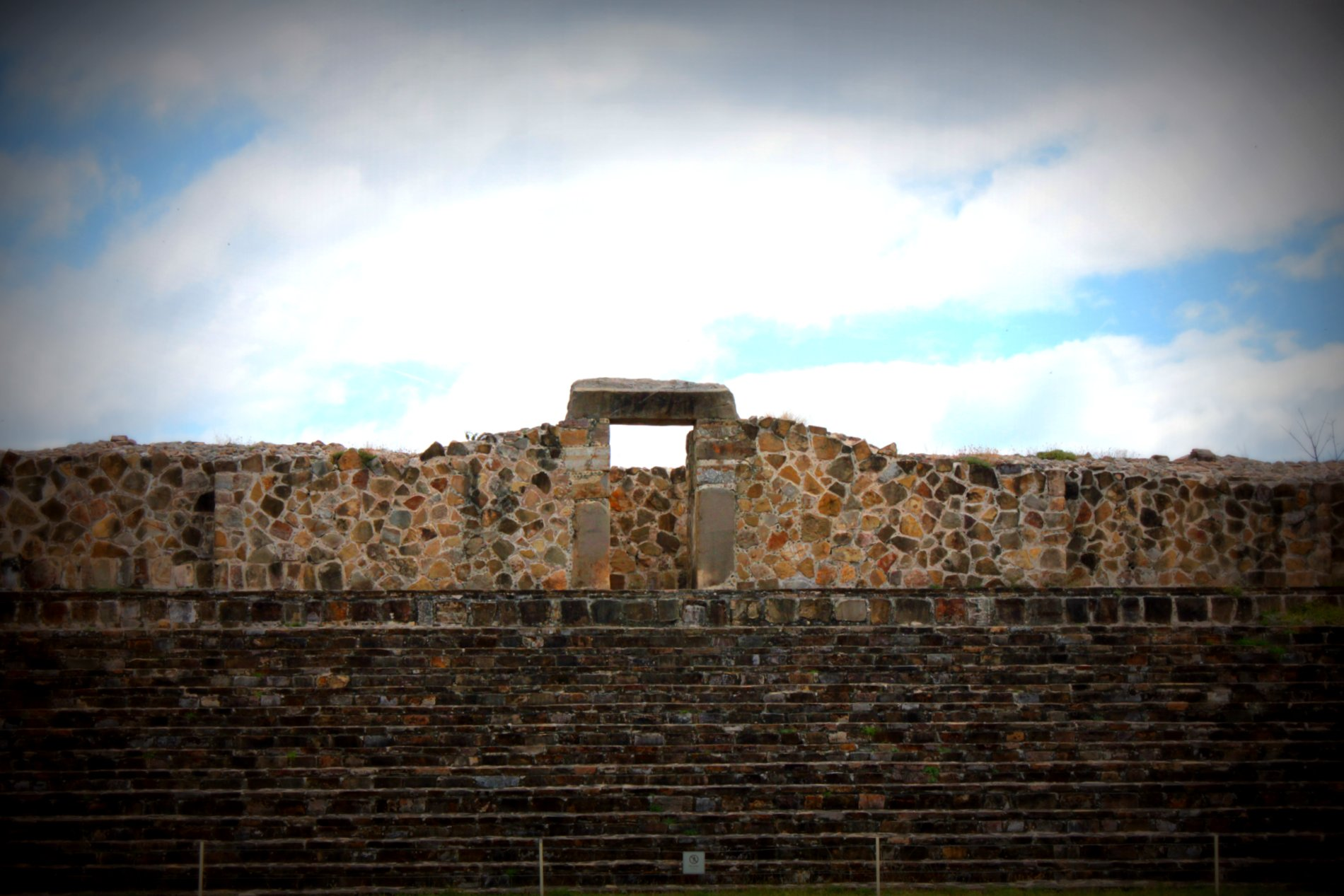 Temple at Monte Alban