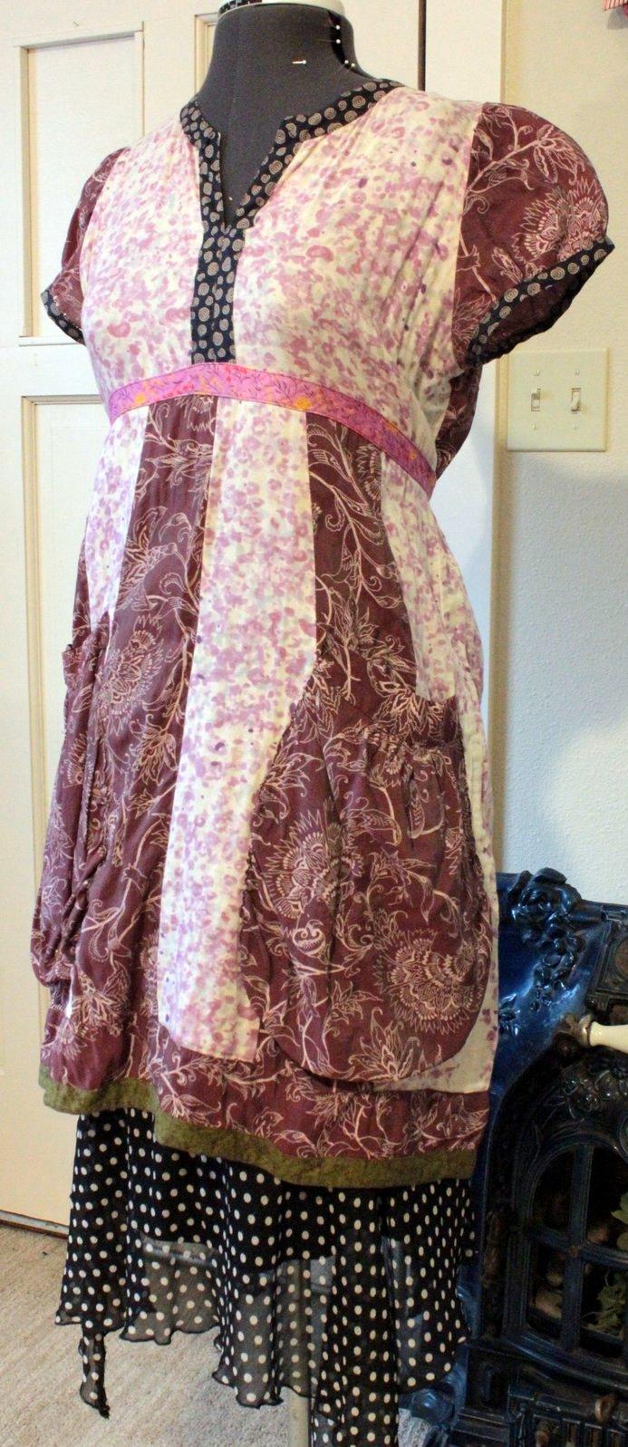 Rebe dress with Goodwill polka dot skirt
