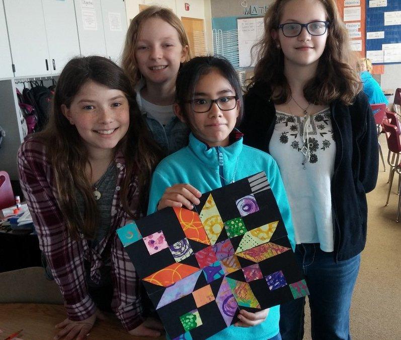 The fifth grade block