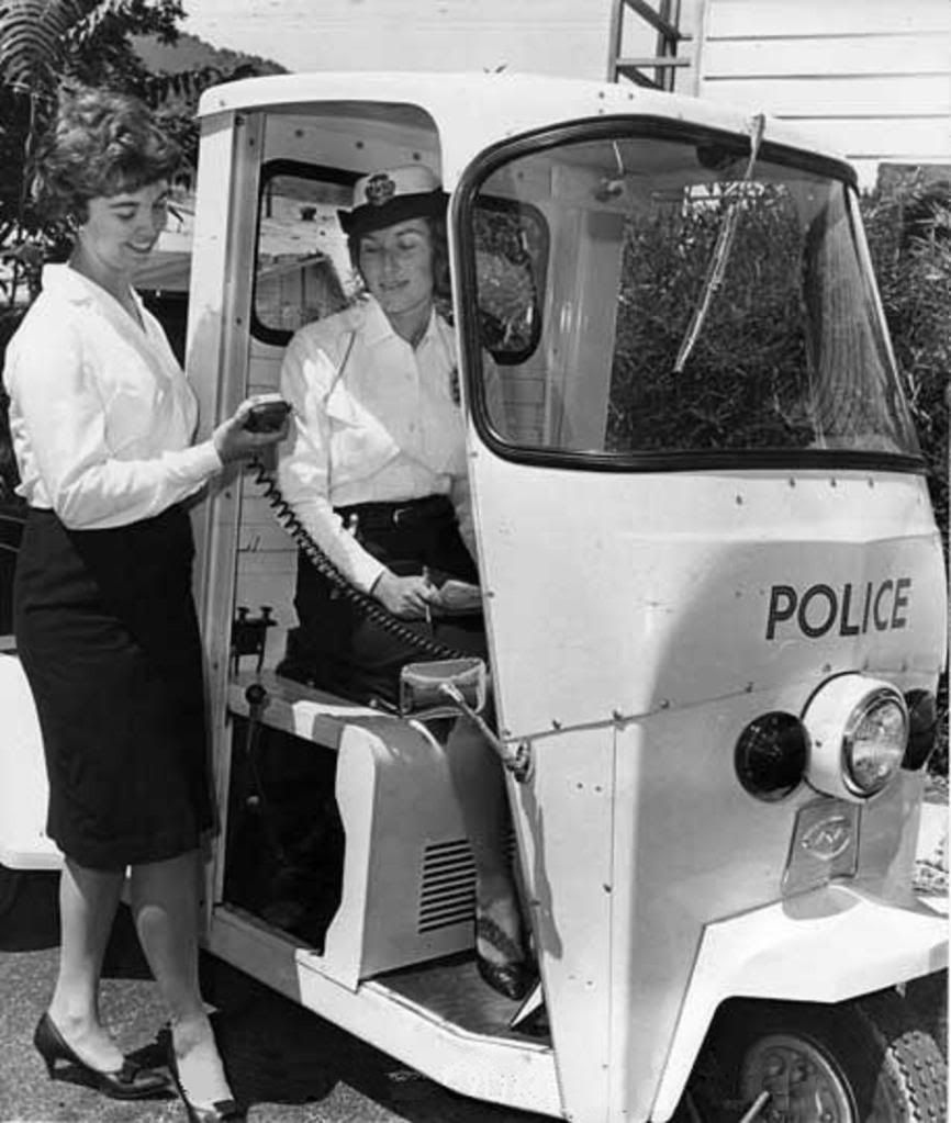 British meter maids from the 1960s