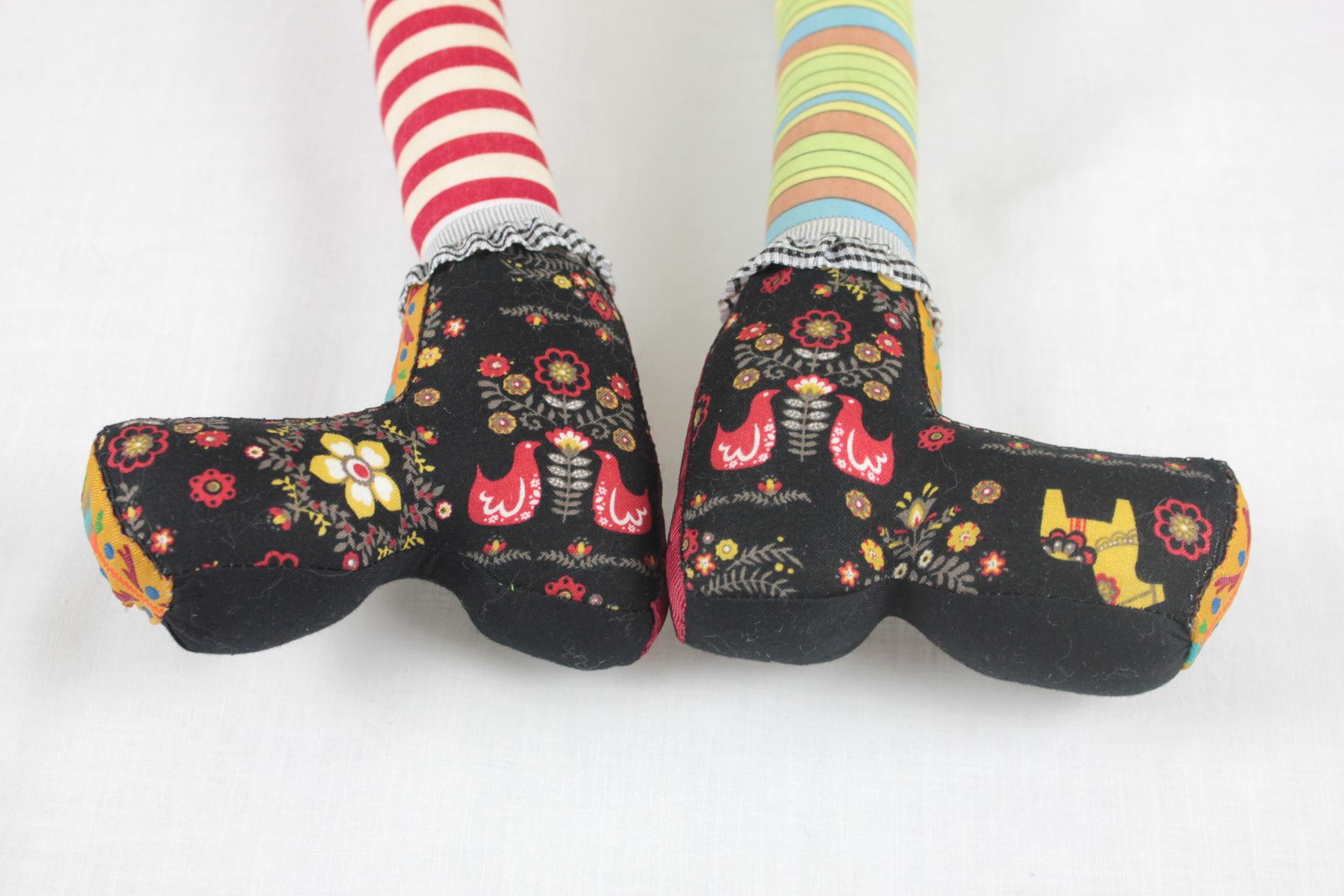 Pippi Longstocking (shoe detail)