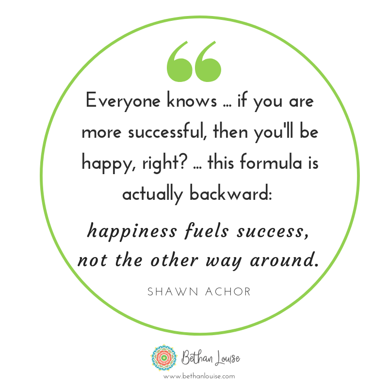 Happiness fuels success. Manage the mood to choose healthier food.