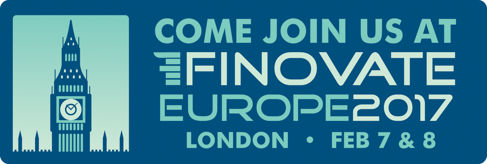 Come and join us at Finovate Europe 2017
