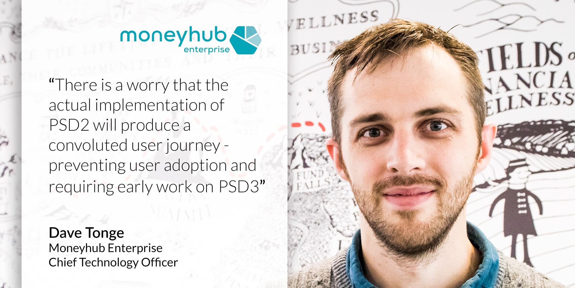 A quote from our CTO, Dave Tonge