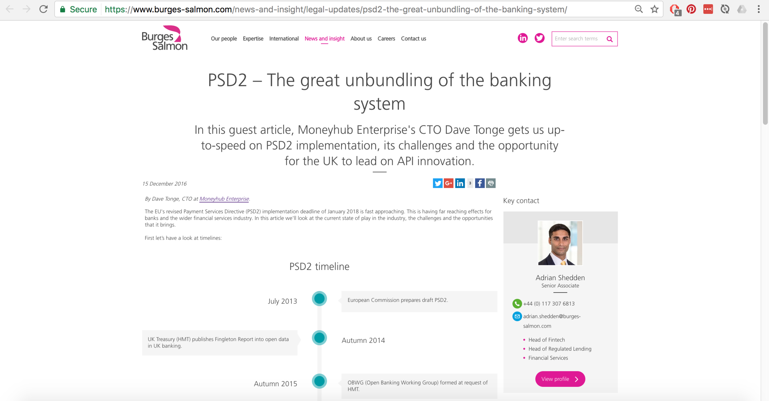 PSD2 article