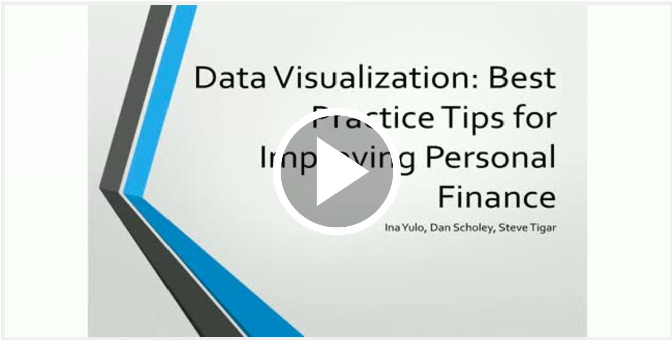 Data Visualisation webinar