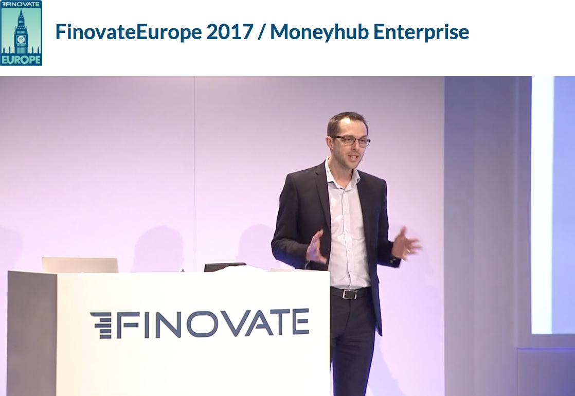 Finovate 2017 – Moneyhub Enterprise