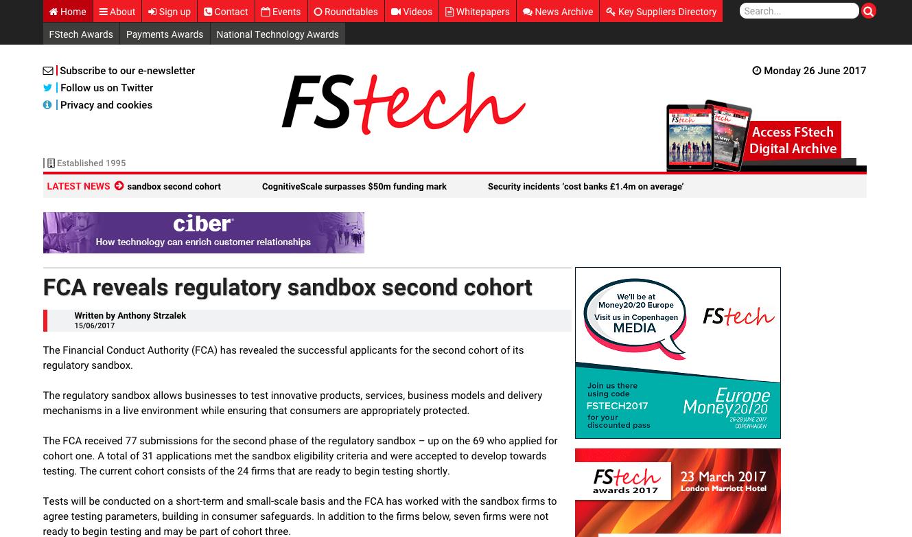 FS Tech article