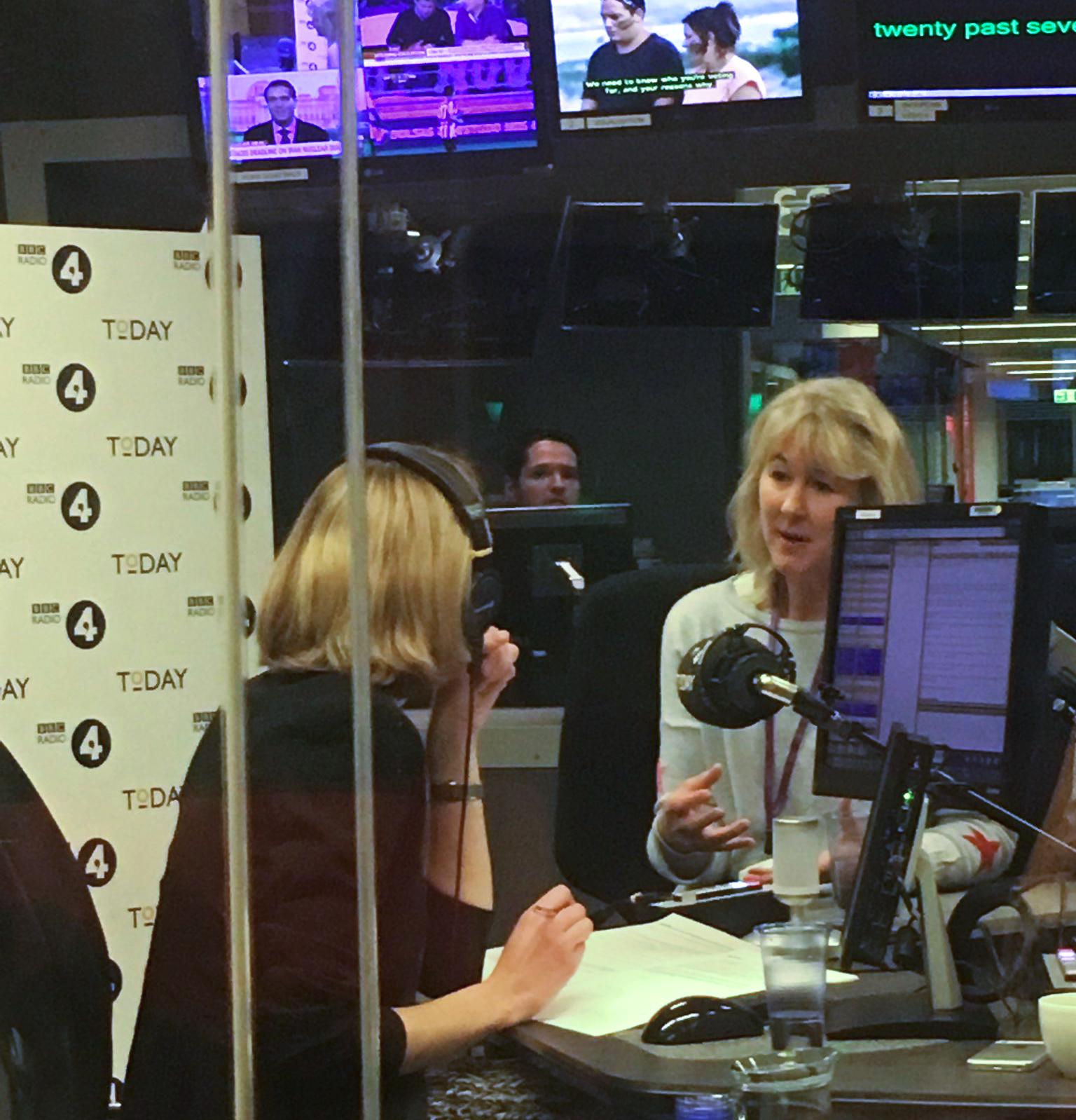Sam Seaton on BBC Radio 4 talking about Open Banking